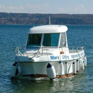 Motorbootschein See